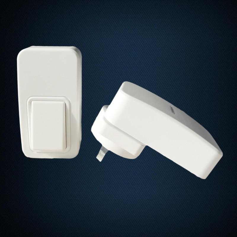 ФОТО long-range 120m waterproof new wireless doorbell with no battery AC240V EU-plug 38 rings home  smart digital door bell