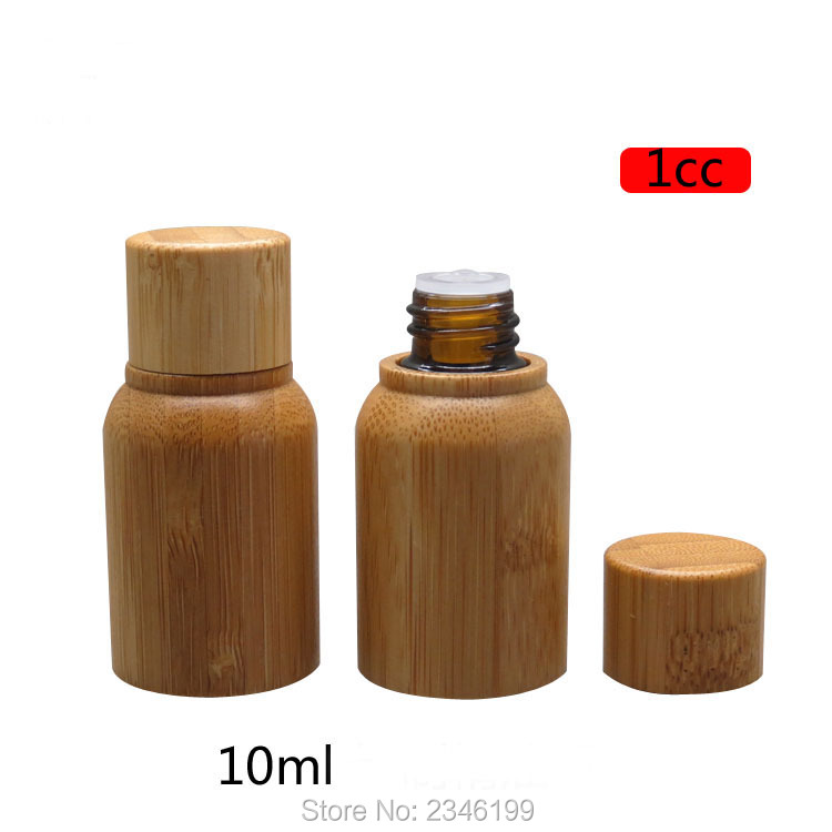 10ML 10pcs/lot Empty Bamboo Wooden Medical Liquid Refillable Bottle, High Grade DIY Cosmetic Bamboo Essential Oil Container 500g cosmetic grade 99