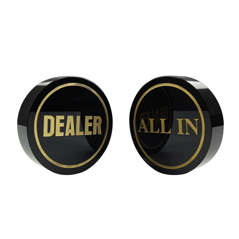 new-high-quality-texas-font-b-poker-b-font-chips-dealer-black-crystal-all-in-baccarat-dealer-button-gold-word-font-b-poker-b-font-accessories