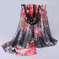 Echarpes Foulards Femme Scarf Luxury Brand 2016 Chiffon Silk Scarf Fashion Bandana Scarf Women Pashmina Shawls and Scarves Wraps