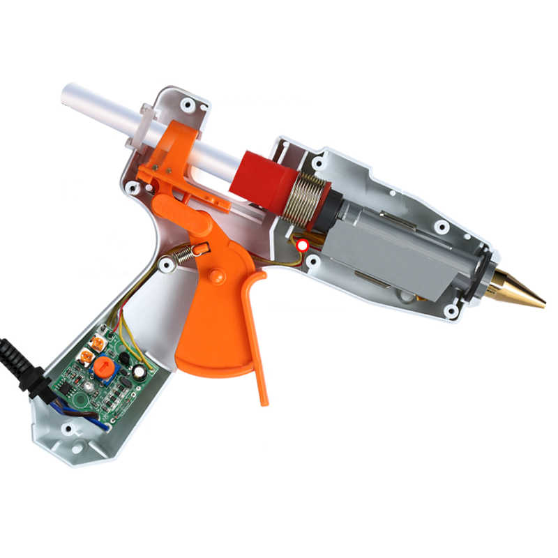 30 W/40 W/80 W/100 W profesional de alta temperatura de fusión caliente pistola de pegamento de reparación de injerto pistola de calor neumática DIY herramientas pistola de pegamento caliente