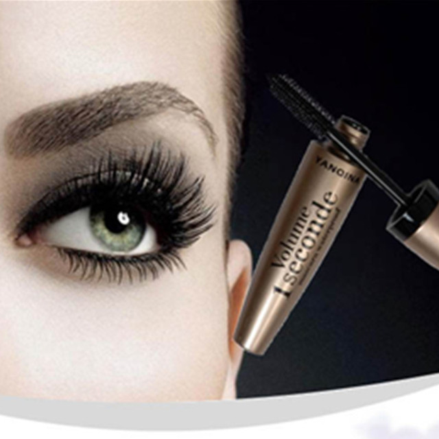 Waterproof Black Mascara Volume Curling Eyelash