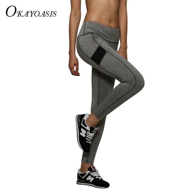 07cf57c2da2e27 OKAYOASIS New Sexy Women's Sexy Leggings Fitness High Waist Elastic Super  Stretch Women Leggings Workout Leggins Trousers Pants