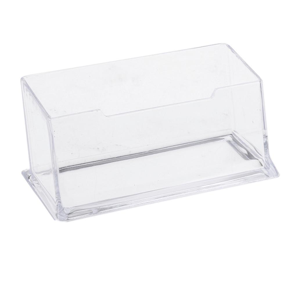 Transparent Acrylic Clear Plastic 4 Tier Business Card Holder Dispenser