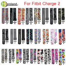 цены For Fitbit Charge 2 band New Fashion Sports Silicone Wrist  Bracelet smart watchband Replacement bands for fitbit charge 2 strap