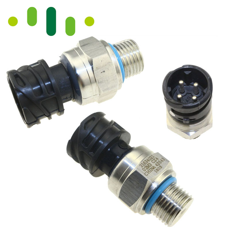 Ceramic Sensor Fuel Oil Pressure Sensor Switch Sender Transducer For VOLVO PENAT TRUCK Diesel D12 D13 FH FM 21634021 7420484678 original fuel oil pressure switch sender sensor transducer for sensata 43cp3 1