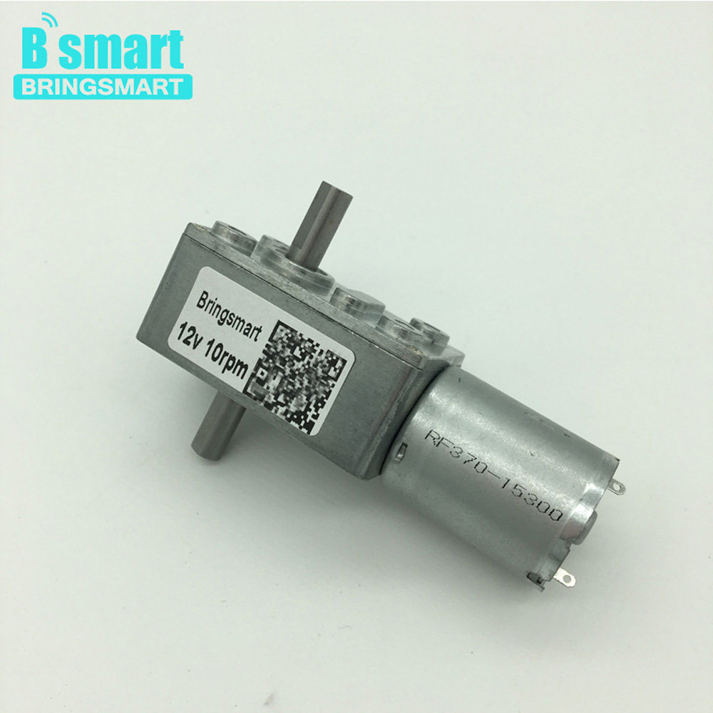 Wholesale JGY370 Worm Gear Motor 12v With Double Shaft,Resersed,Adjust Speed,Self-Lock,Dc 6V And Motor Dc 24V For Gear DIY etc. d shaft bldc motor gear 12v 24v 5 1270rpm adjustable speed cw ccw electric motors for toys cars for kids to ride diy toy etc