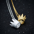 2016 New Arrivals 925 Sterling Silver Crown Pendants Necklace Jewelry Queen Crown Necklace Pendant Colgante Pingente De Plata