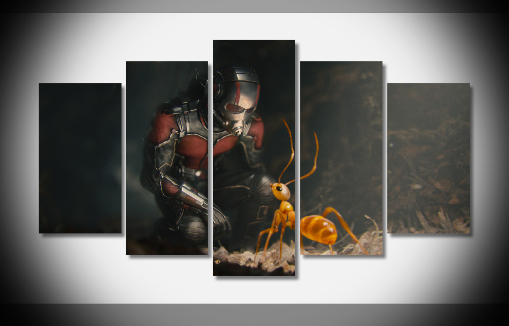 7036 Ant Man Marvel Movie Hero WallpapersByte poster Framed Gallery wrap art print home wall decor wall picture Already to