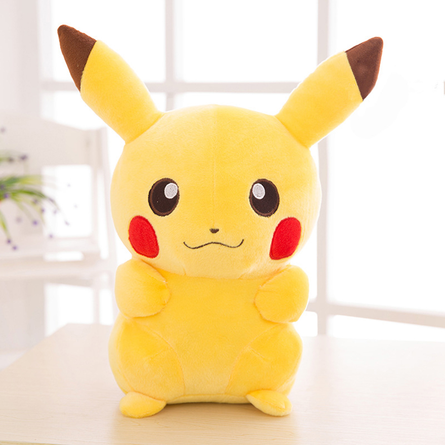 20cm Small Kawaii Pikachu Cartoon Plush Toy Stuffed Animals Dolls Soft Toys Peluche Oyuncak Bebek Toys For Children Cojines N008 children cartoon animals hanging outdoor basket toys