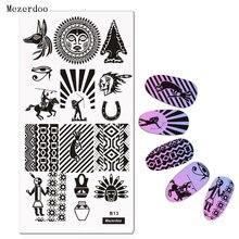1 шт индийские штамповочные пластины для ногтей шаблон дизайна