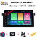 9 inch Octa Core 4+32G Android 8.0 Car DVD For BMW E46 Radio Multimedia E46 Car M3 tuning accessories optional 3G/4G DAB+