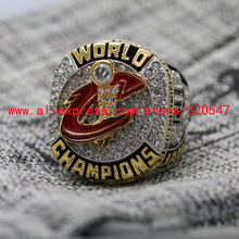 On Sale 2016 Cleveland Cavaliers National Basketball Championship Copper Ring 7-15Size Engraved Inside For James 23# Ship Today