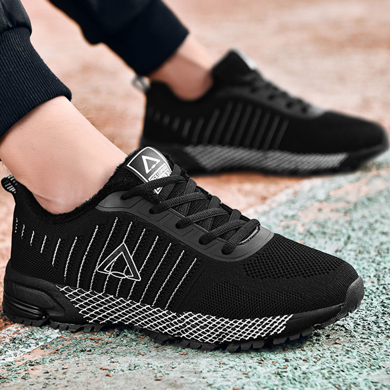 Nouveau Style Automne hiver chaussures pour hommes Mode sneakers Souliers homme chaussures adulte hommes de hiver sneakers Mans chaussures 39-45