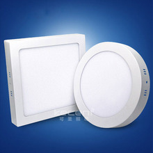 18w 24w 15w 12w 6w 9w 3w surface mounted round square flat lights panel led for ceiling kitchen