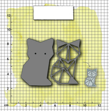JC Metal Cutting Dies for Scrapbooking Fox Frame Stencil Handmade Paper Cut Card Making Model Decoration Craft