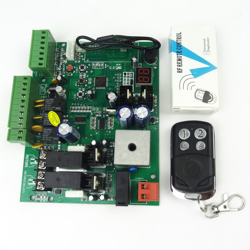Image 5 - Universal use 24V DC PCB board of Automatic Double arms swing gate opener control board panel , motor ( Remote option )-in Access Control Kits from Security & Protection