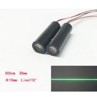 505nm 30 mW Linha Módulo Laser Radium Tipo Dispositivo de Marcação A Laser de Luz Da Lâmpada Do Laser DIY