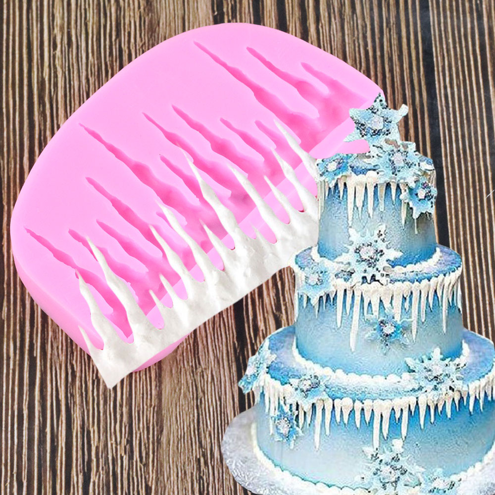 Heart Bird Silicone Sugarpaste Jelly Mould Kid Birthday Cake Decorating 6L
