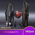 562 unids Star Wars EMPATE de Combate de Las Fuerzas Especiales Figura marvel Juguetes bloques de construcción bloques de Los Niños Juguetes compatible con legoe estrella guerras