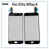 5.46 Inch Touch Screen Screen Digitizer Front Glass for Vivo Xplay 6 Mobile Phone Touch Panel Glass
