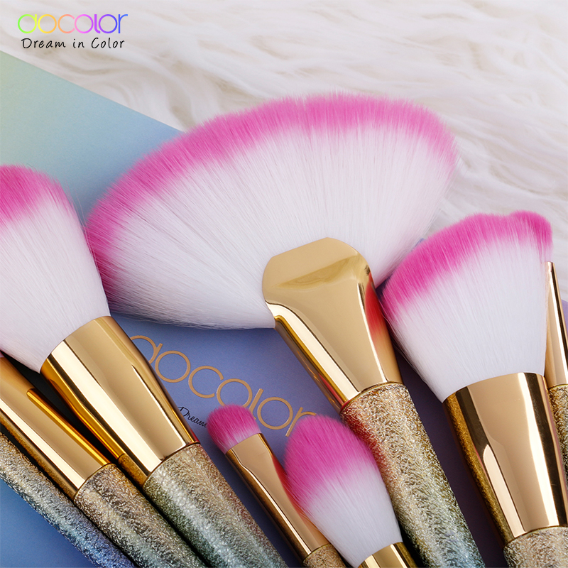 Tesoura de Maquiagem fundação pó destaque sombra blending Used With 2 : Blush Brush, Highlight Brush, Contour Brush