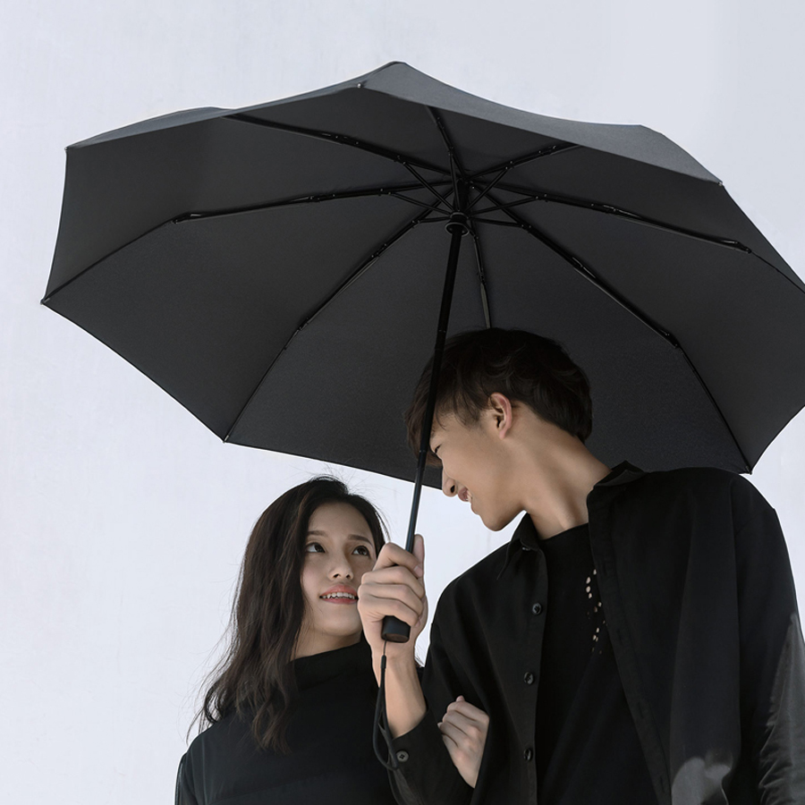 Xiaomi Mijia Automatic Sunny Rainy Umbrella Aluminum Windproof Waterproof Uv Man Woman Summer Winter Alloy Rain Auto Parasol C2# Smart Remote Control