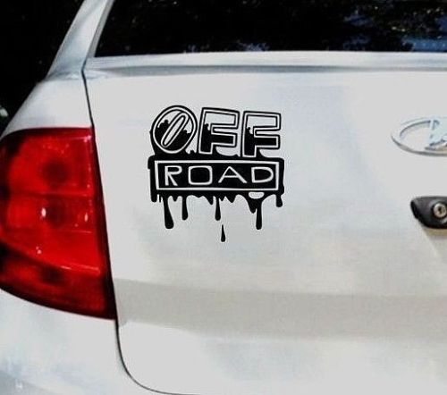 15 cm * OFF ROAD High-Quality Waterproof Sticker On Your Car Moto Vinyl Decor Decals