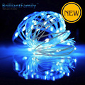 LED 10M AA Battery box light Operated LED String Lights for Party Wedding Decoration Christmas Silver Wire star lamp String 33FT
