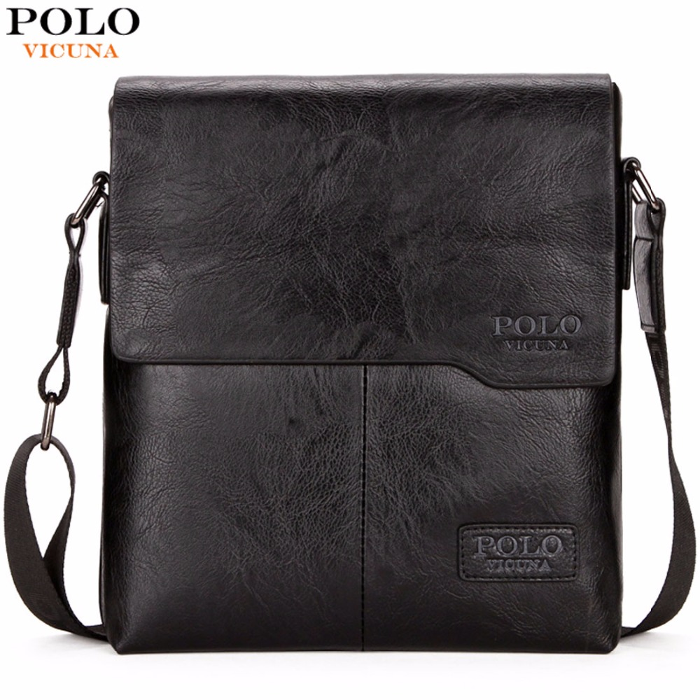 VICUNA POLO Men Shoulder Bag Classic Brand Men Bag Vintage Style Casual Men Messenger Bags Promotion Crossbody Bag Male Hot Sell 2016 hot sell classic 100