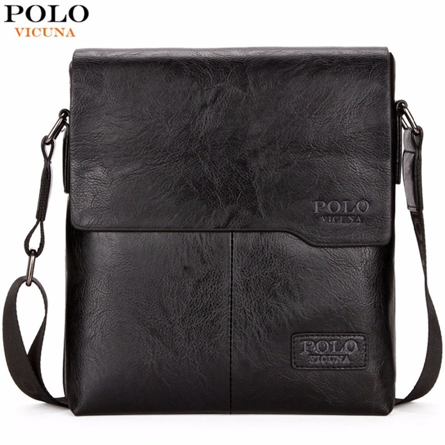 e1f0e053c6 VICUNA POLO Men Shoulder Bag Classic Brand Men Bag Vintage Style Casual Men  Messenger Bags Promotion Crossbody Bag Male Hot Sell