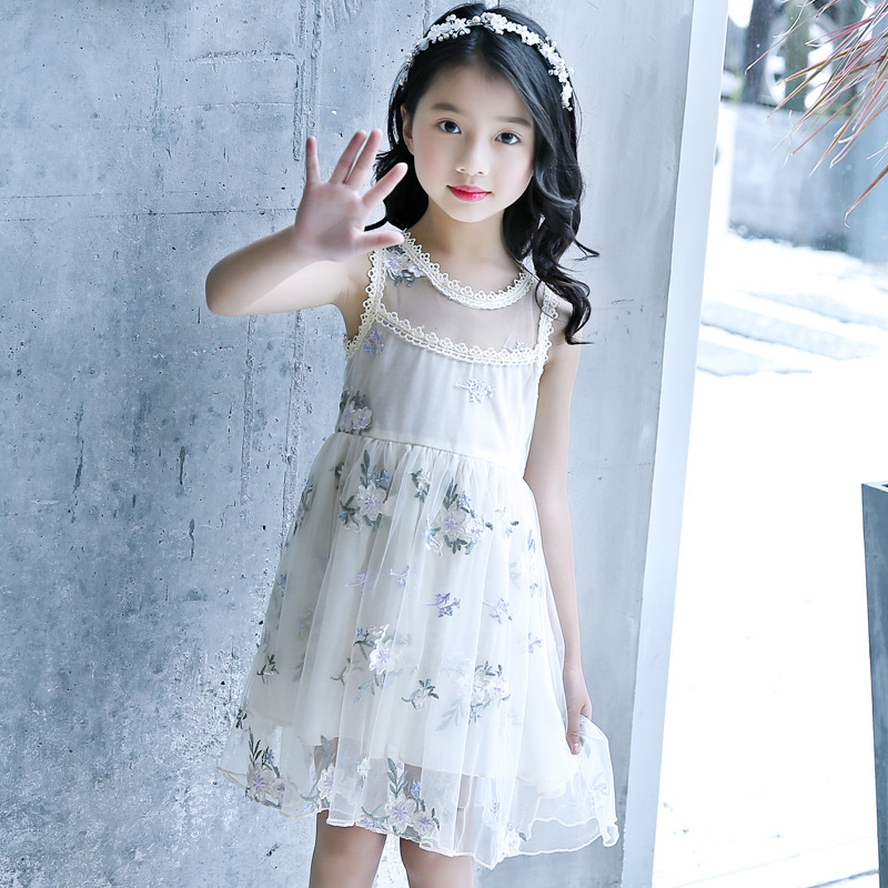 teenage girls dresses 2018 summer girl dress baby clothes