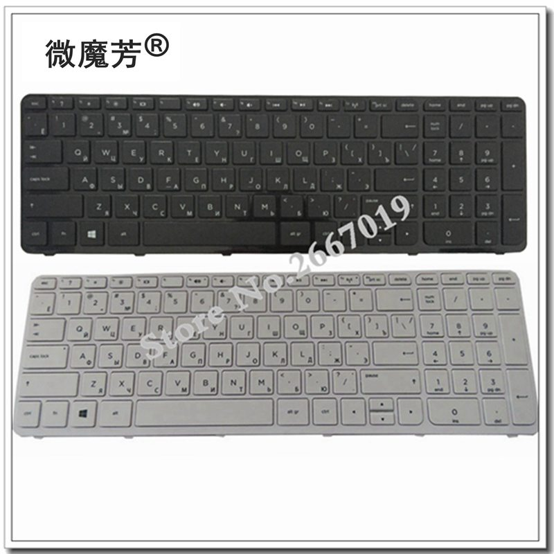 Russian New Laptop Keyboard For HP PK1314D3A05 SG-59830-XAA SG-59820-XAA 719853-251 708168-251 749658-251 RU