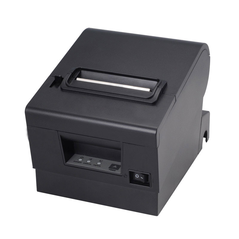 High quality kitchen printer 80mm auto cutter receipt printer POS receipt printer bill printer 1pcs pk 3 external usb sound card 2 1 channel audio adapter with headset mic for pc desktop notebook output power 800mw purple