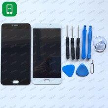 Hacrin para Meizu M3 Nota Pantalla LCD + Touch Panel de Cristal Digitalizador de Pantalla con Herramientas Accesorios Para Meizu M3 Nota M681H L681H