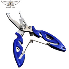 ALMIGHTY EAGLE Fishing Plier fishing scissors Mini fish hook remover Multifunction tools Camping tool rocket fishing pliers