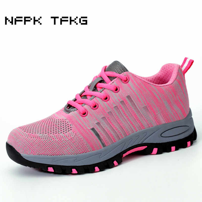 6298f7a3 ... casual breathable mesh steel toe caps working safety shoes platform  anti pierce tooling security boots protection on Aliexpress.com | alibaba  group