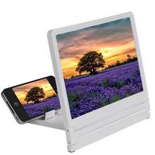 Foldable Mobile Phone Screen Magnifier Eyes Protection Display 3D Amplifier Enlarge Cell Stand
