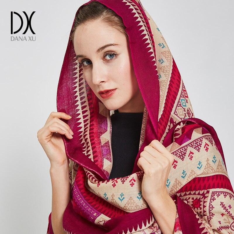 2019 Cashmere Hijab Scarf Women Fashion Scarves and Shawls Scarf Luxury Brand Wrap Poncho Winter Bandana Muslim Pashmina Cape