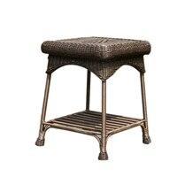 Jeco открытый патио плетеная мебель столик