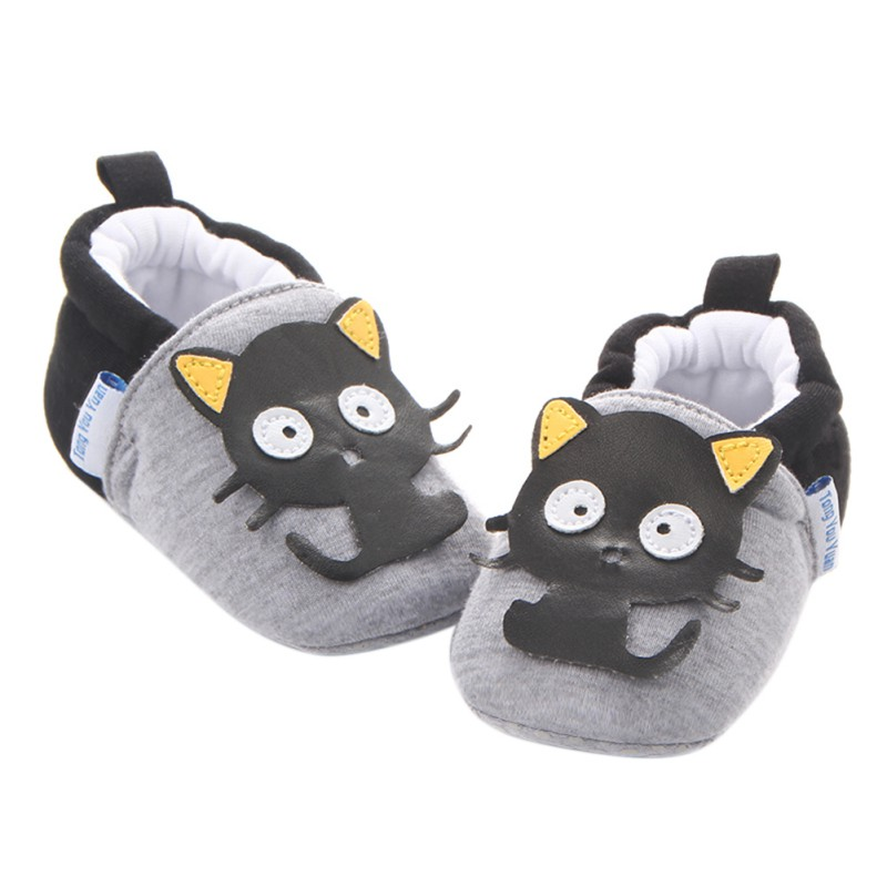 WEIXINBUY Baby Boys Girls Soft Cotton Crib Shoes Infant Anti Slip Toddler Shoes for 3-11M Kids 8 Styles First Walkers