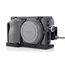 MAGICRIG Camera Kooi met HDMI Kabel Klem voor Sony A6400/A6000/A6300/A6500 te Monteren Microfoon Flash licht Monitor