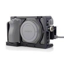 MAGICRIG Khung Máy Ảnh với Cáp HDMI Kẹp cho Sony A6400/A6000/A6300/A6500 để Gắn Micro Đèn Flash ánh sáng Màn Hình