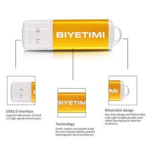 Image 2 - BIYETIMI neue ankunft stick für pc bunte 32GB memory stick 2,0 stick pen drive STICK