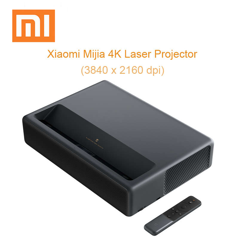 Xiaomi Mijia лазерный проектор 4 K проекции домашний кинотеатр проектор HDR DOLBY DTS с Wi-Fi Bluetooth 3D Projektor