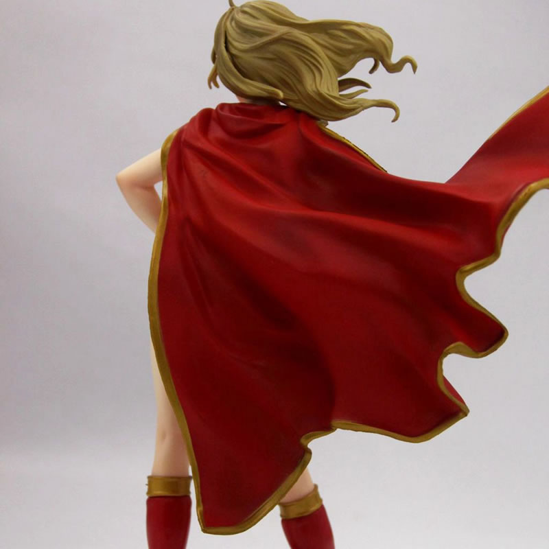 Euramerican Classic Comics Supergirl Bishoujo Figure Super Girl Returns Resin GK model figure Adult Naked anime figures