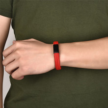 Beautiful Red Men's Leather Bracelet