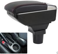 Armsteun Armsteun Draaibaar Voor Toyota Yaris Vitz Hatchback 2006-2011 Middenconsole Opbergdoos 2007 2008 2009 2010