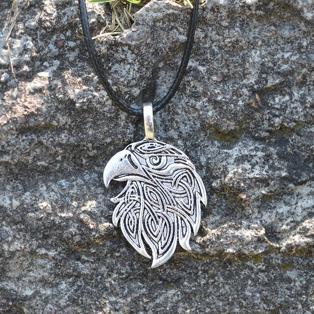 Dawapara Viking halskette Fuchs Triquetra Fenrir Tier Teen Wolf ...