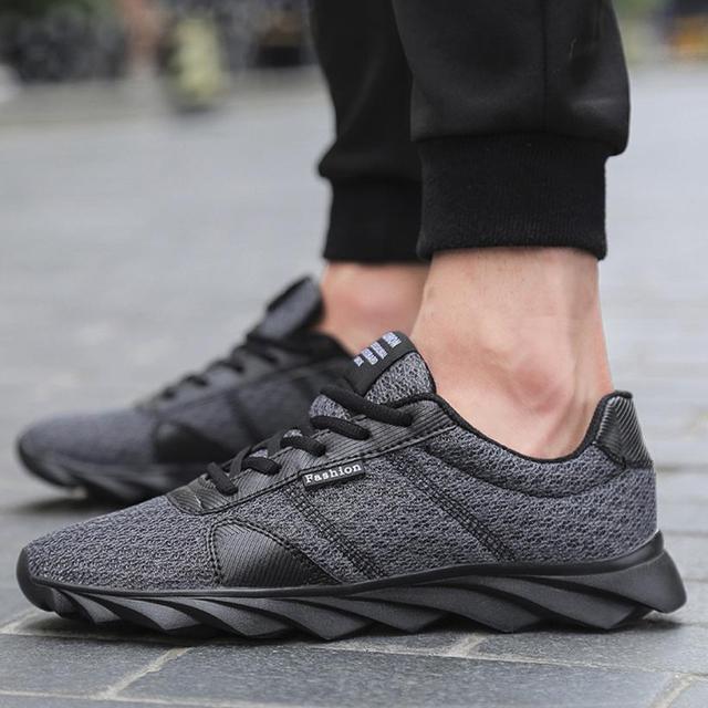 YOUYEDIAN נעלי האופנה נעלי גברים נעלי רשת נעלי גופר Beathable שרוכים sapatos masculino # A40